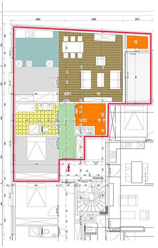 appartement Vogelzang A1