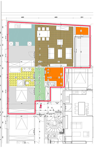 appartement Vogelzang A2
